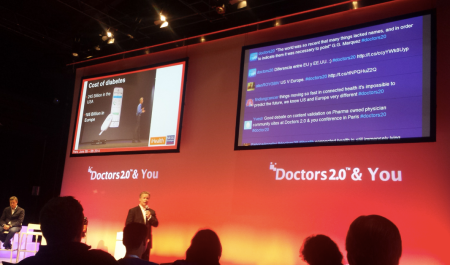 Uwe Diegel iHealthLabs presenting at #Doctors20
