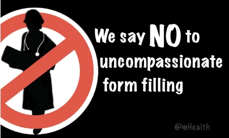 We Say No to uncompassionate form filling