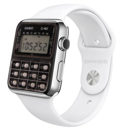Apple Watch Casio C80
