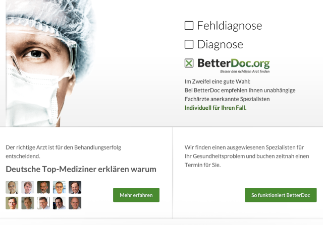 BetterDoc Website