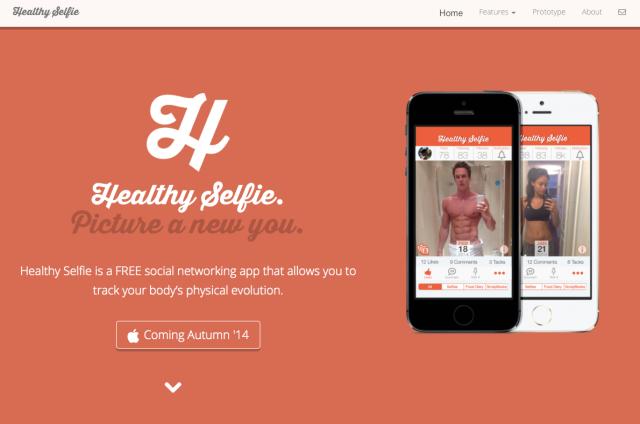 HealthySelfie Website