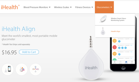 iHealth Smartphone Connected Glucometers