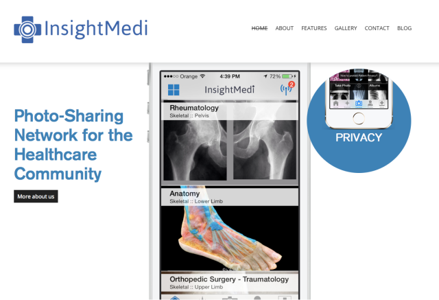 InsightMedi Website