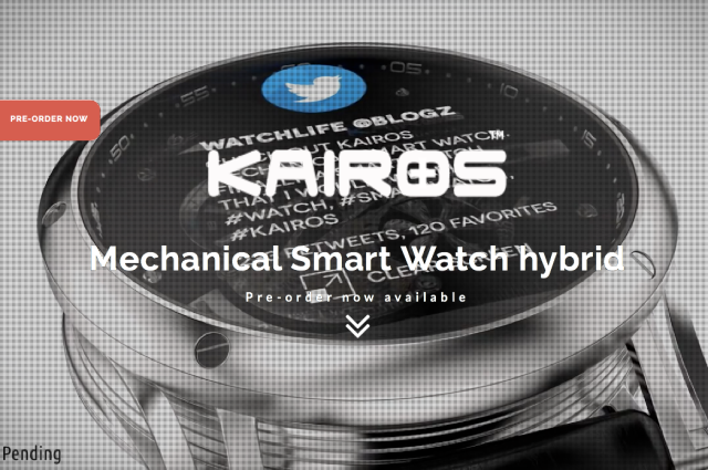 Kairos Watches Website