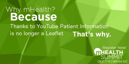 mHealth Summit Why mHealth Youtube