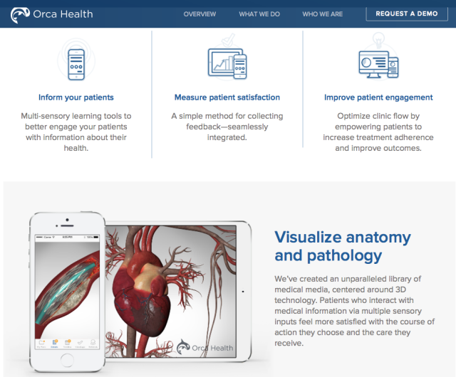 OrcaHealth Website