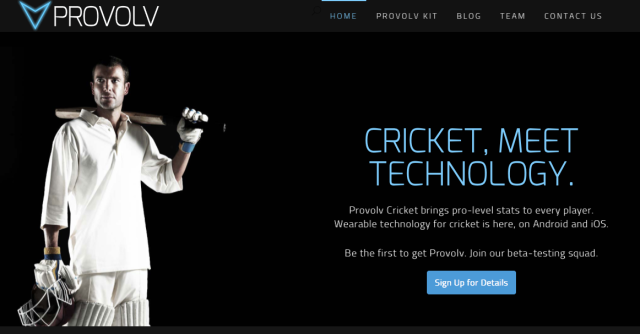 ProvolvCricket Website