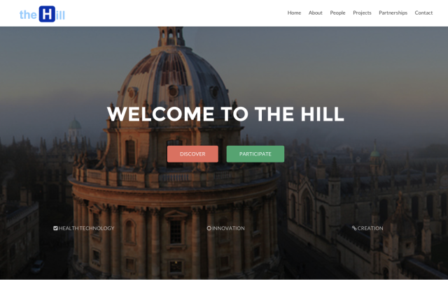 The Hill Digital Hub Website