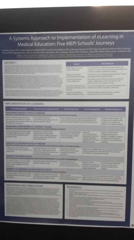 GetHealth Poster A systems approach to implementation of eLearning in med ed