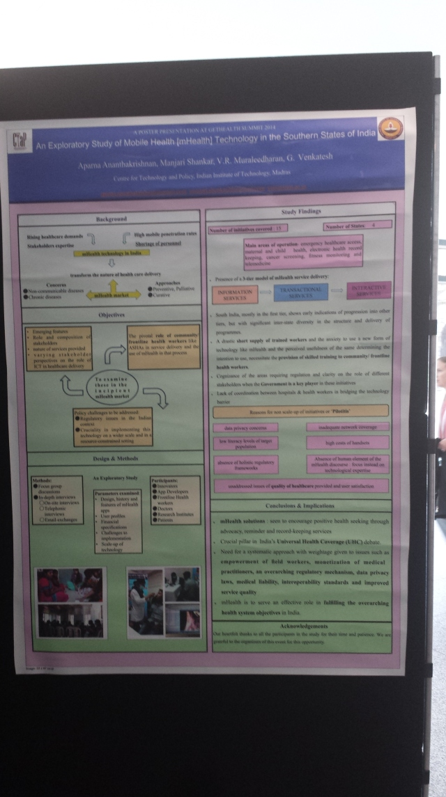 GetHealth Poster An exploratory Study of mHealth