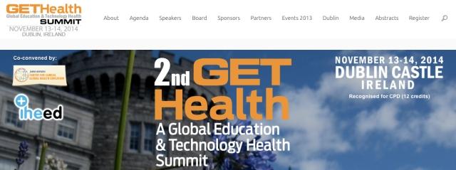 GetHealth Summit 2014