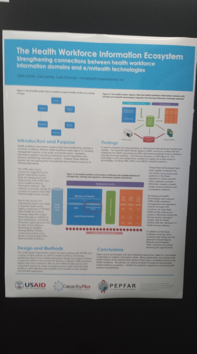 GetHealthPoster The Health Workforce Info Ecosystem
