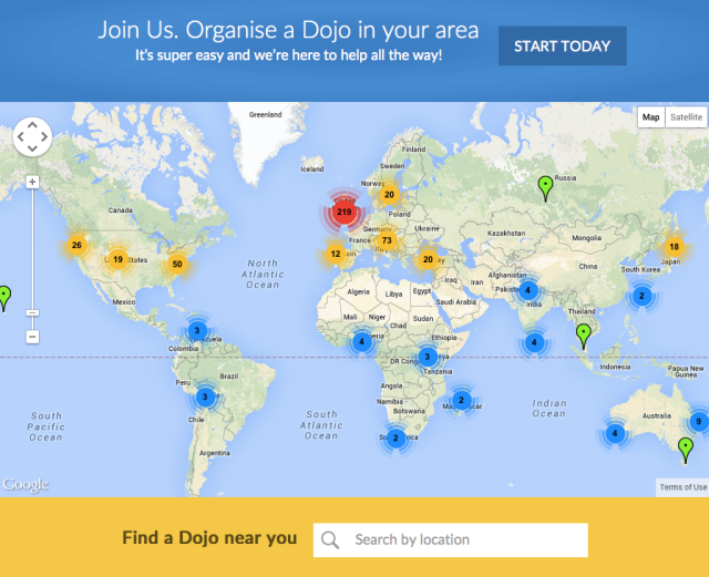 Find a Dojo near you