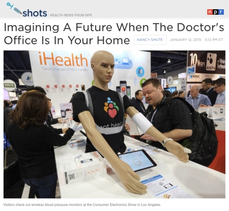 Imagining a future when the Doctors office is in your home