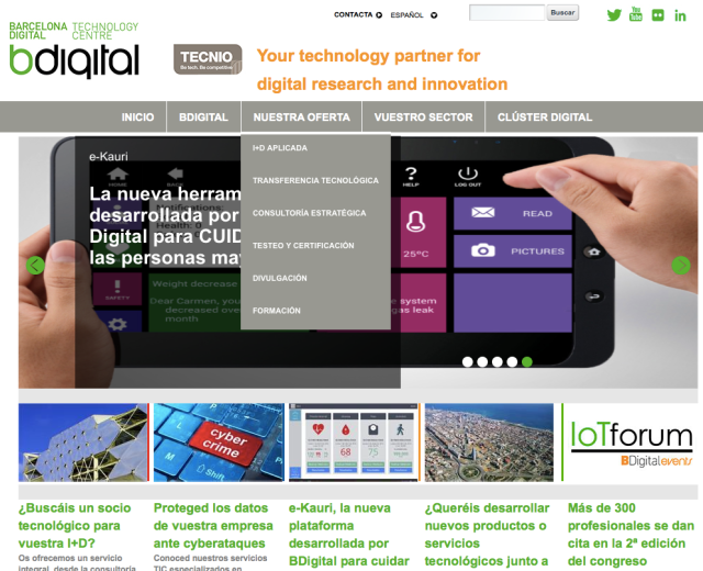 bdigital website