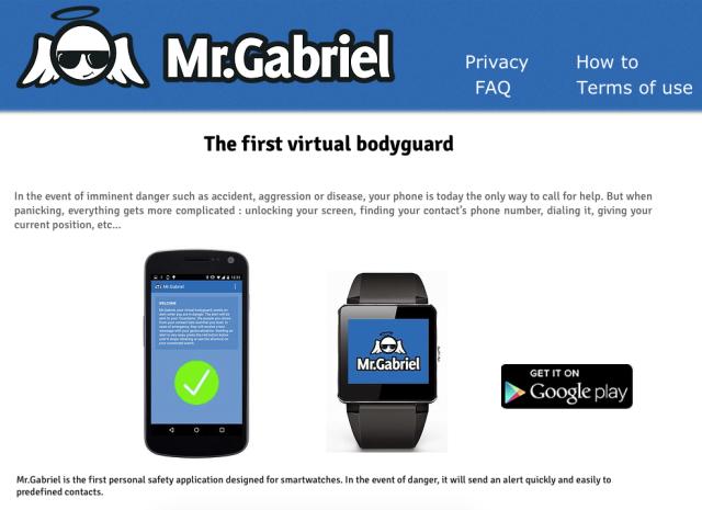 Mr Gabriel Website