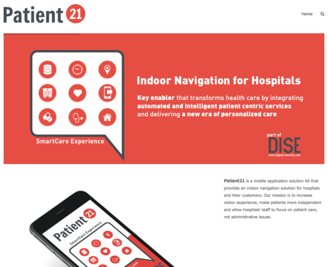Patient 21 Website