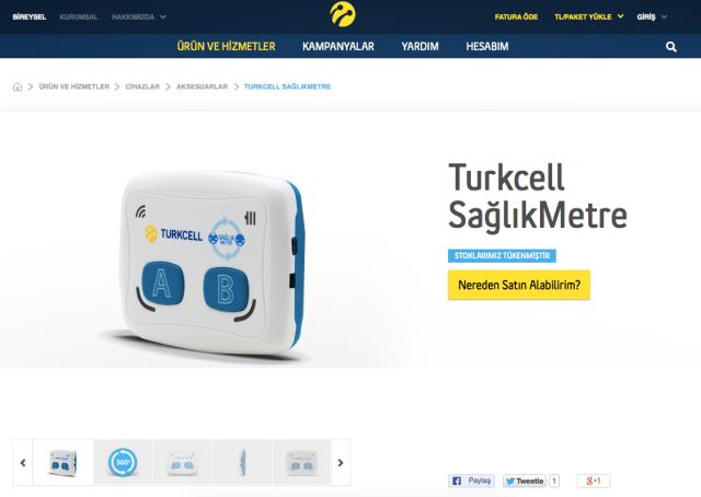 Turkcell HealthMeter
