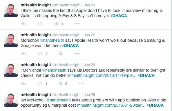 Tweets from DHACA