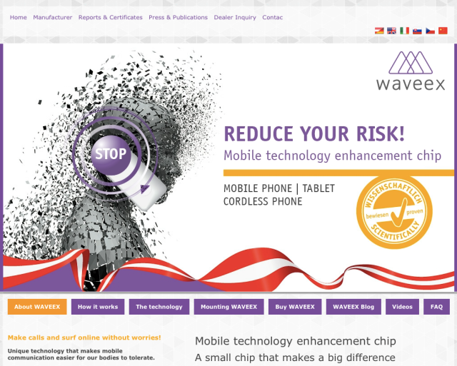 Waveex Website