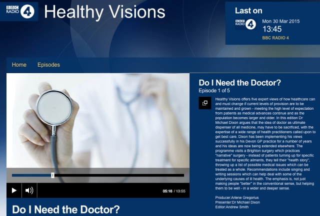 BBC Health Visions Do I need a Doctor