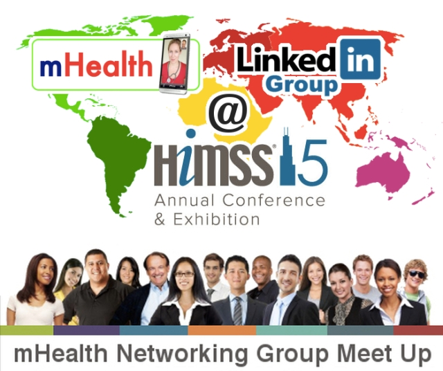 Linkedin mHealth networking group meetup at HIMSS15