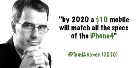 TomiAhonen 10 dollar iPhone4
