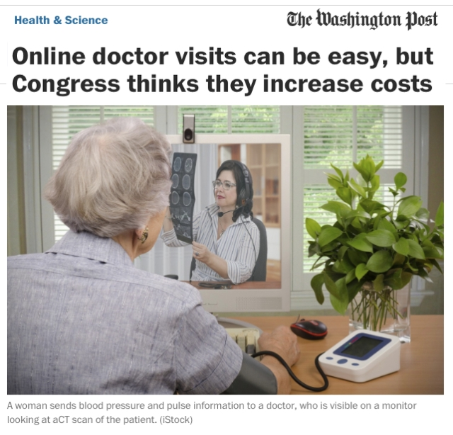 WashingtonPost Online Doctor Visits