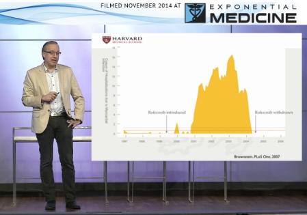 Isaac Kohane MD PhD talking at Exponential Medicine 2014