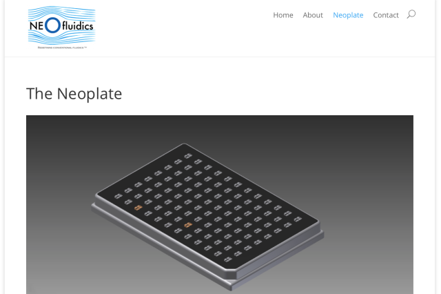 Neofluidics Neoplate