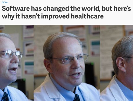 Software hasn't improved healthcare