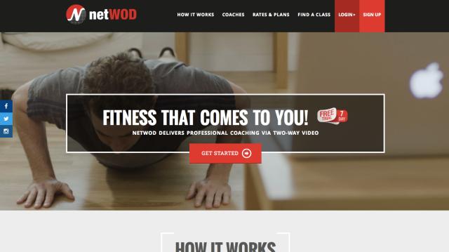 NetWod website
