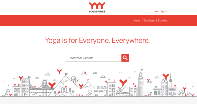 YogaTribes Website