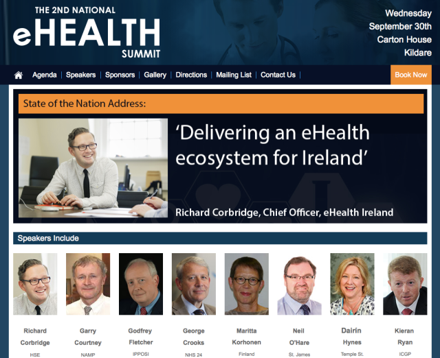 eHealth Summit Ireland 2015