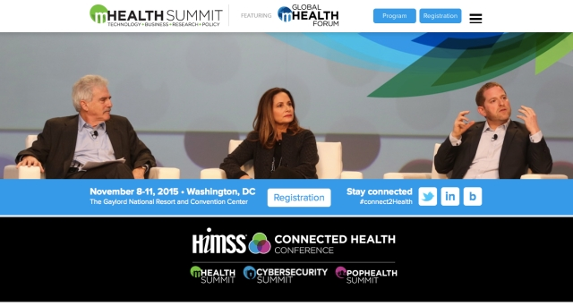 mHealth Summit 2015 featuring the Global Health Forum