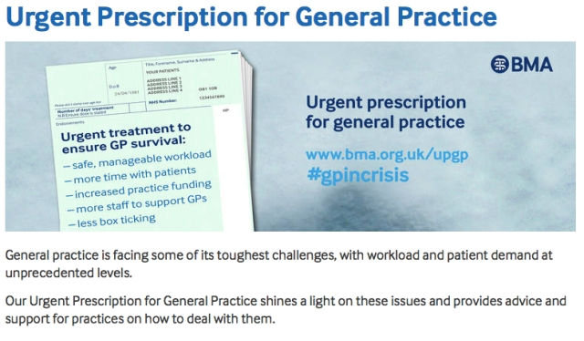 Urgent Prescription for General Practice