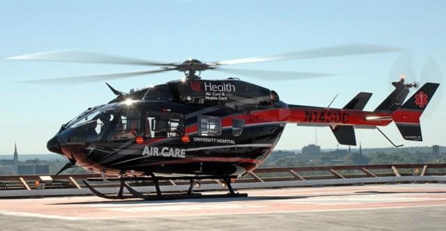 University Hospital Helicopter
