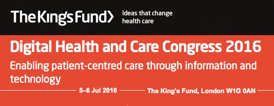 KingsFund Digital Health and Care Congress