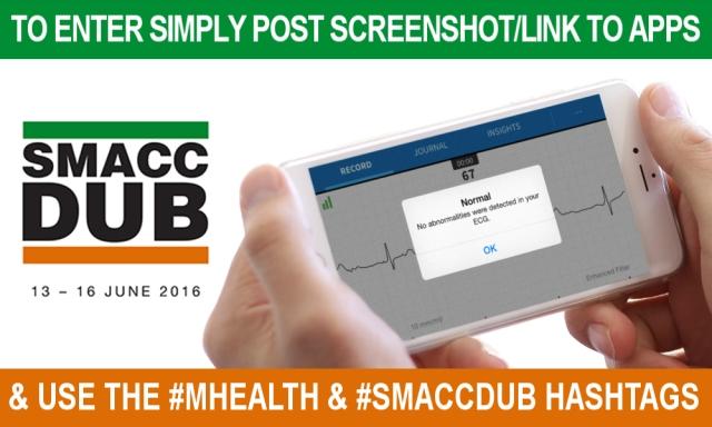 #smaccdub #mHealth app competition