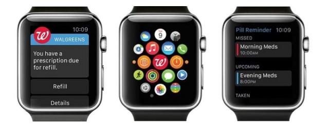 Walgreens Apple Watch Reminder App