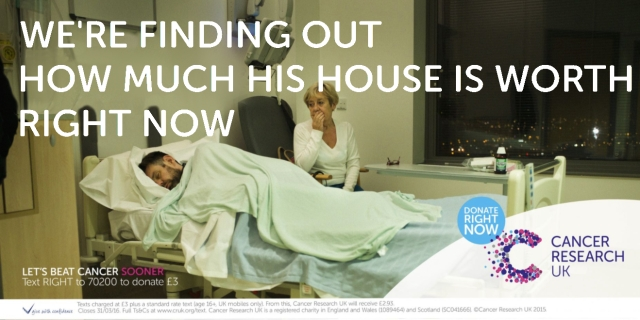If Cancer Charity Adverts were honest