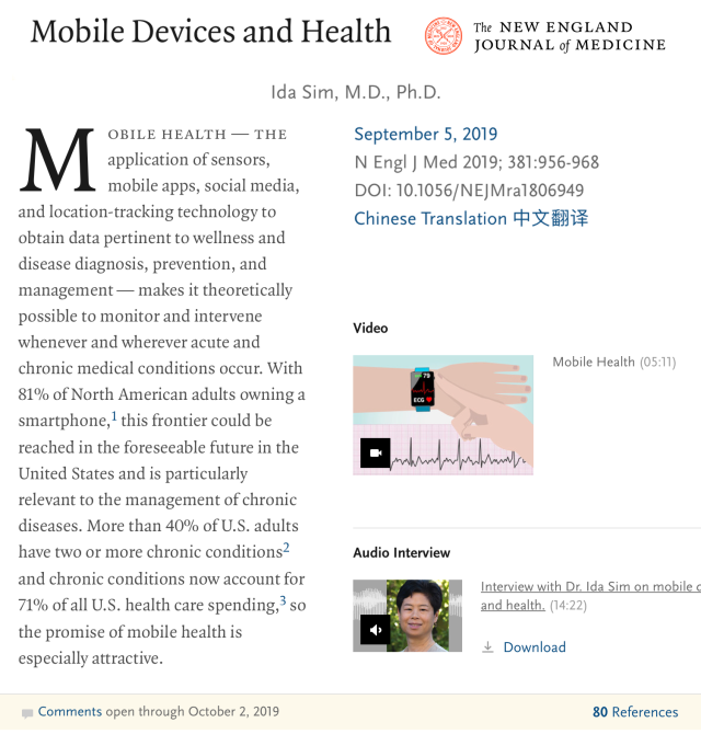 Mobile Devices and Health