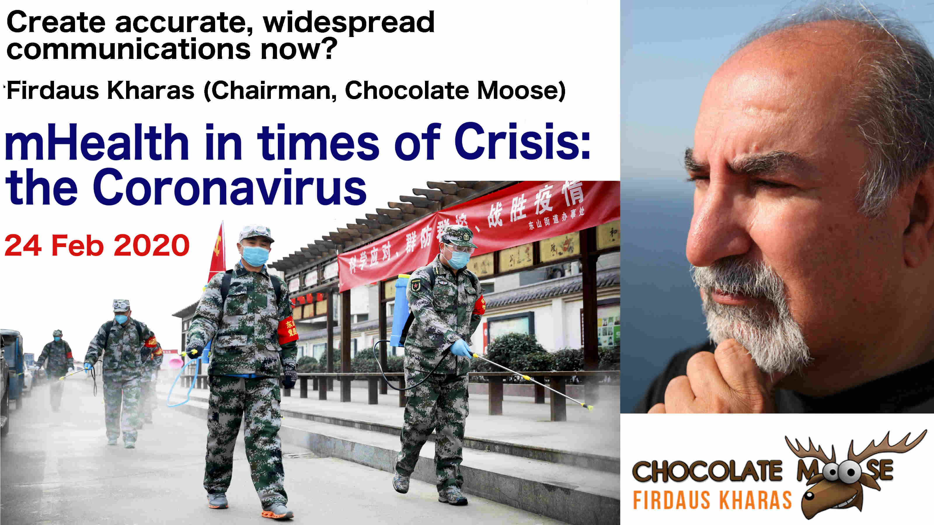 mHealth in Crisis Chocolatemoose