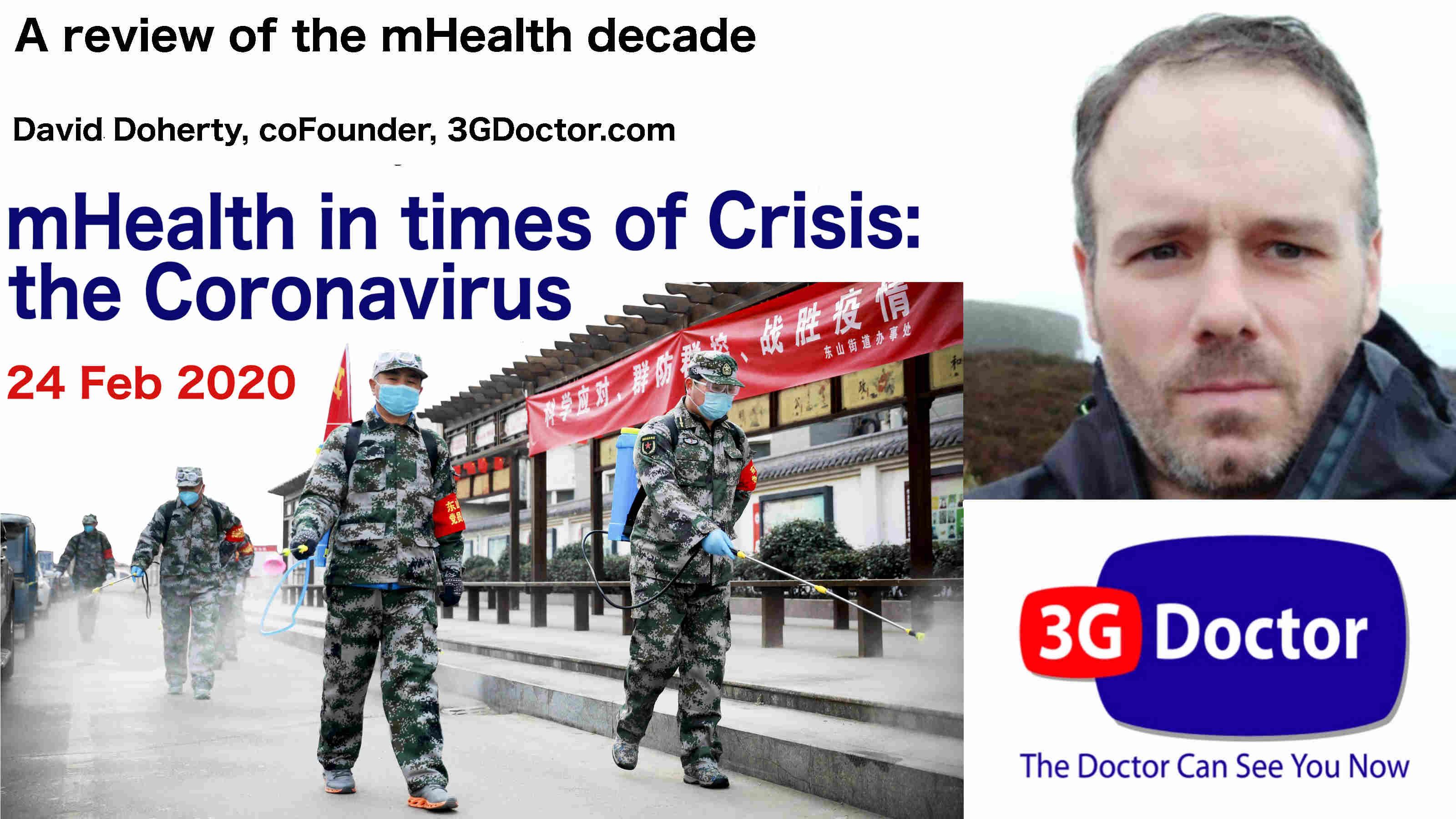 mHealth in Crisis David Doherty