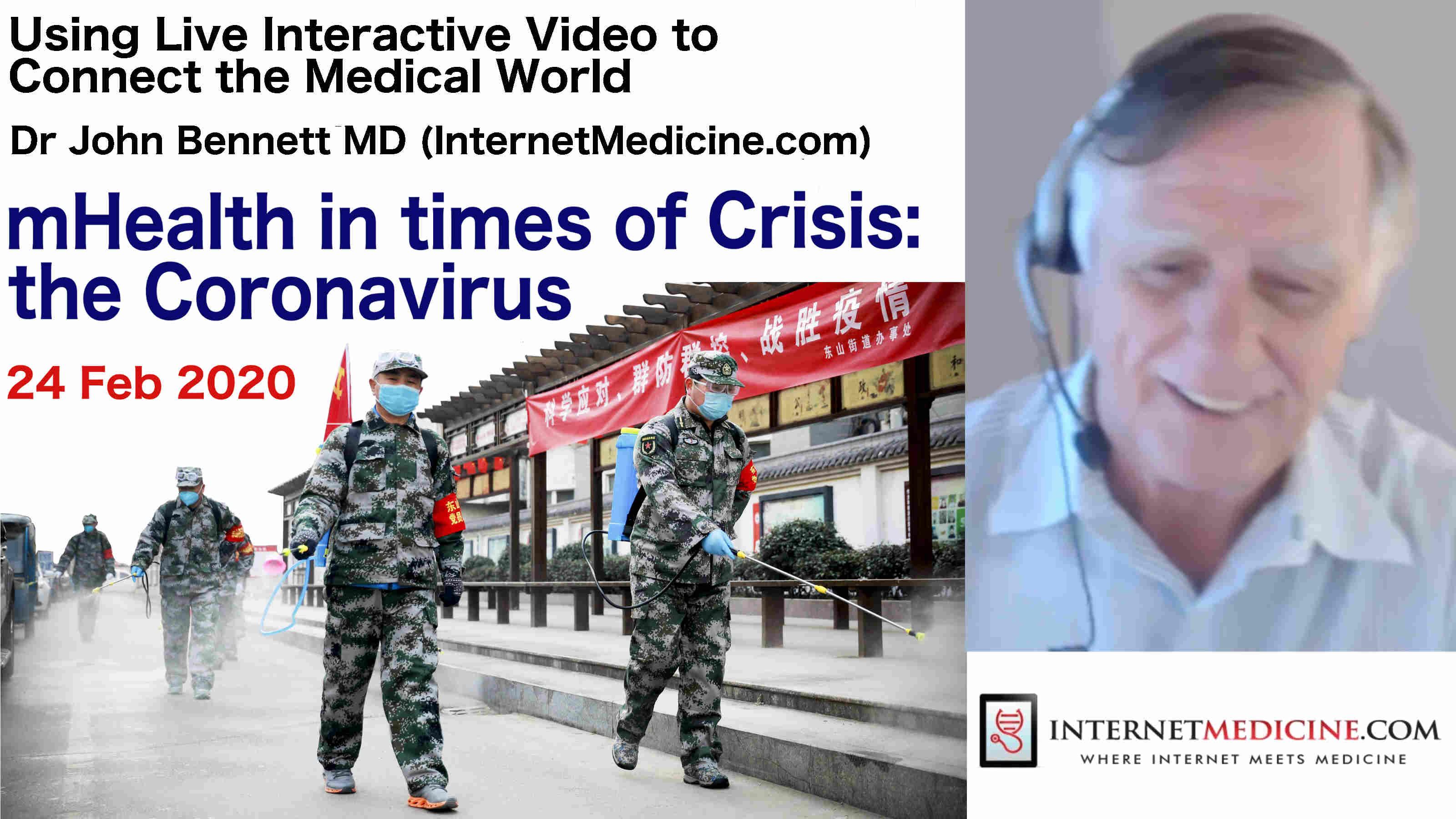 mHealth in Crisis InternetMedicine