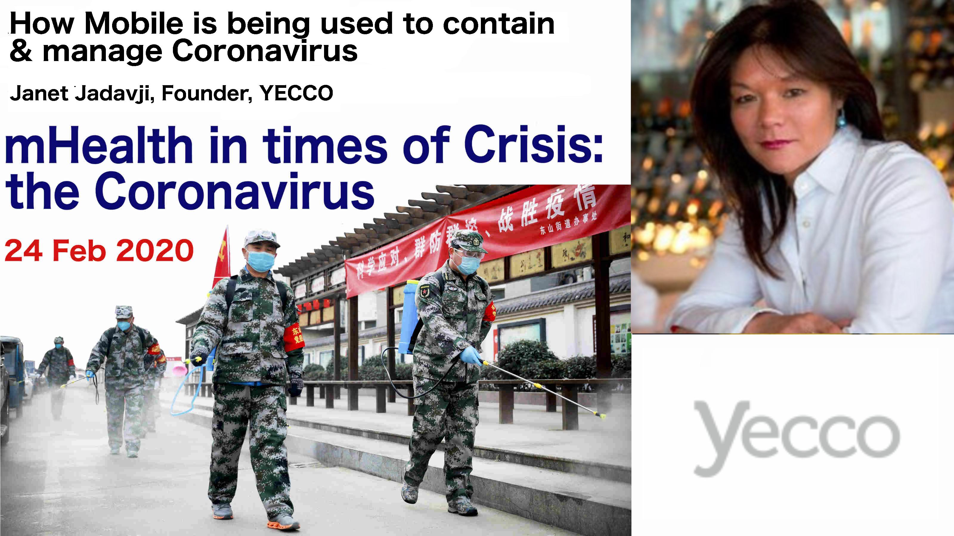 mHealth in Crisis Janet Jadavji
