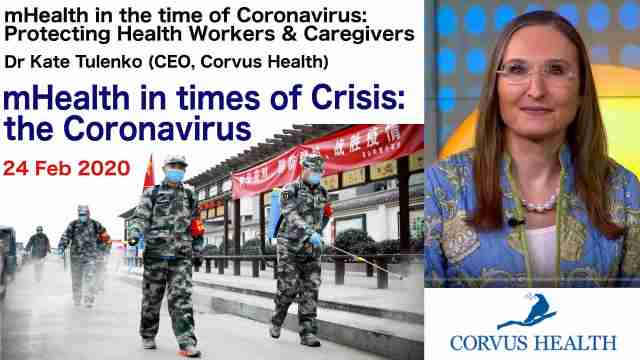 mHealth in Crisis Kate Tulenko Corvus Health