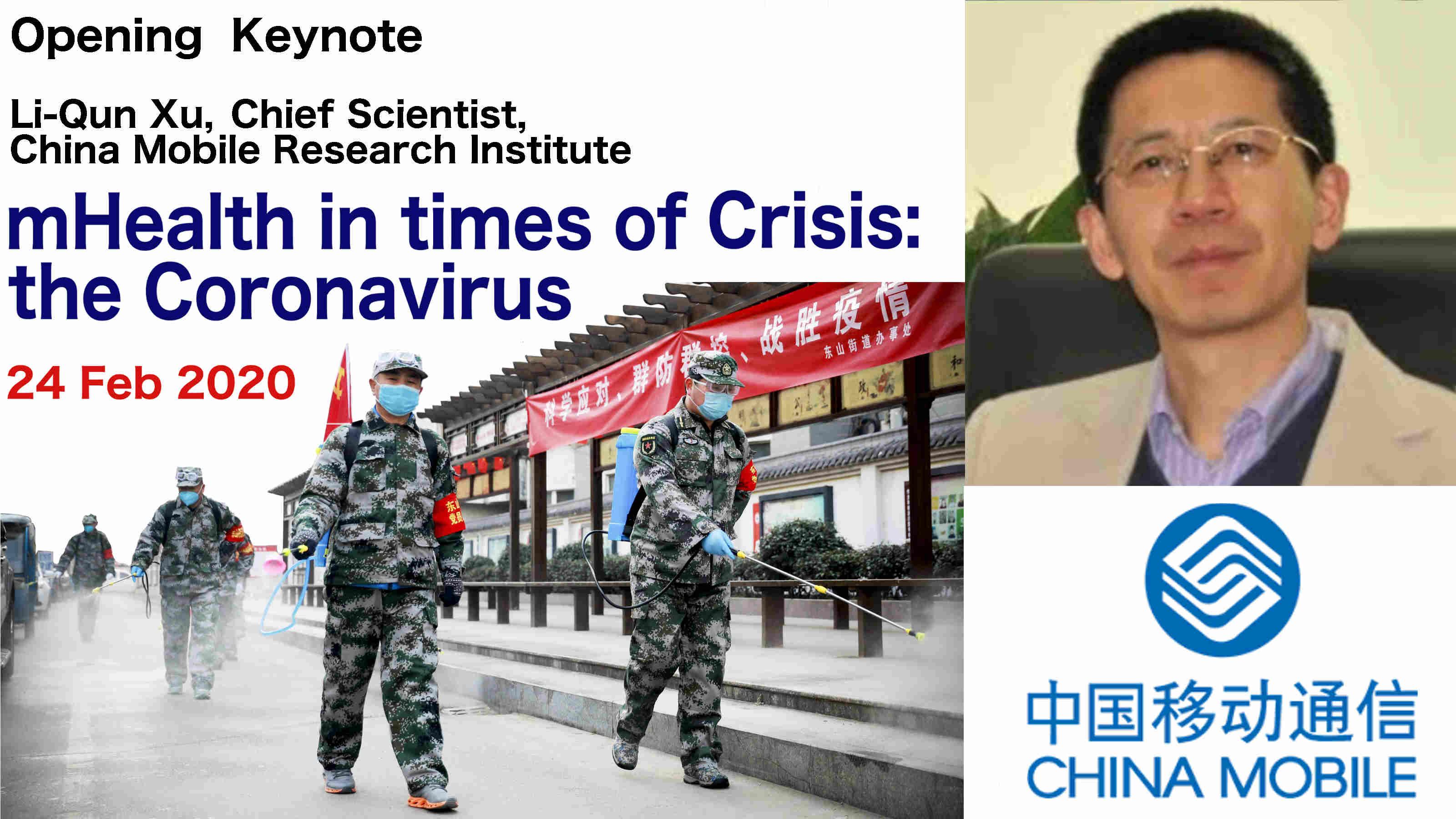 mHealth in Crisis LiQun Xu China Mobile