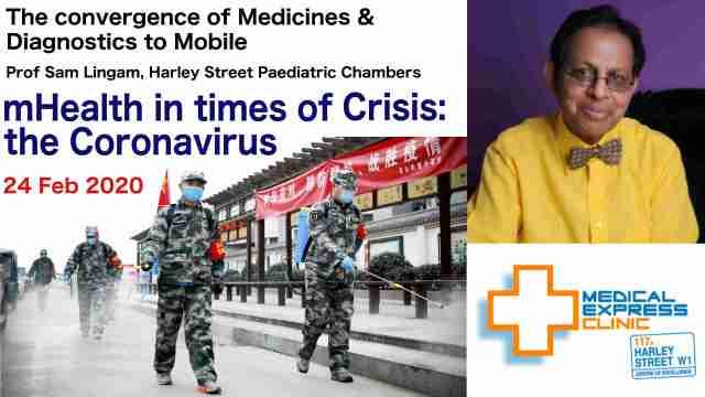 mHealth in Crisis Prof Sam Lingam